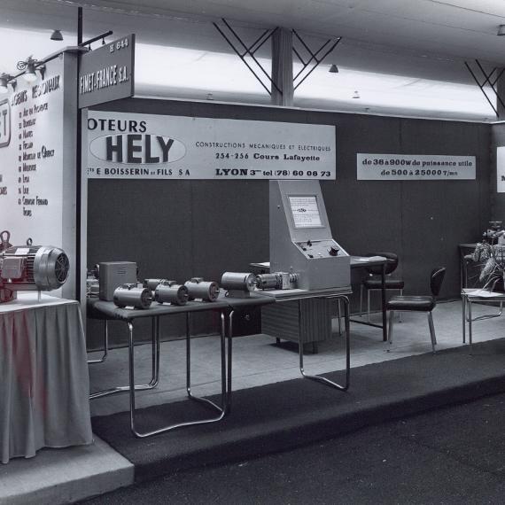 Hely salon Mecanelem 1968